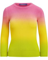 Ralph Lauren - Dip-dyed Cashmere Sweater - Lyst