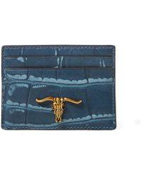 Polo Ralph Lauren - Embossed Steer Head Card Case - Lyst