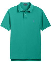 Polo Ralph Lauren - Slim Fit Mesh Polo Shirt - Lyst