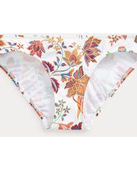 Ralph Lauren Slip da bikini a vita bassa a fiori - Multicolore