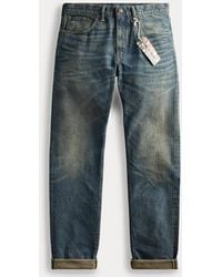 RRL Slim Fit Jean - Blue
