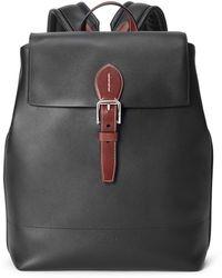 Ralph Lauren Purple Label Ralph Lauren Calfskin Voyager Backpack - Black