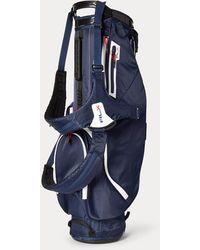 Ralph Lauren Sac de golf trépied RLX en nylon - Bleu