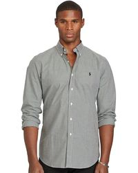 Polo Ralph Lauren - Checked Cotton Poplin Shirt - Lyst