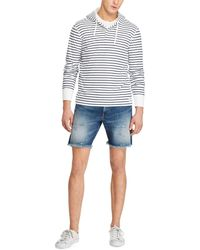Polo Ralph Lauren - Striped Cotton-blend Hoodie - Lyst