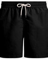 Polo Ralph Lauren Short de bain Traveler 14,6 cm - Noir