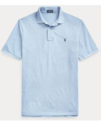 Ralph Lauren The Iconic Mesh Polo Shirt - Blue