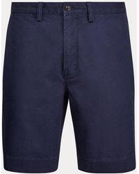 Ralph Lauren Classic-Fit Stretch-Twill-Shorts - Blau