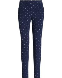 Ralph Lauren - Print Twill Skinny Trouser - Lyst