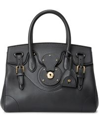 Ralph Lauren Calfskin Light Ricky 27 - Black