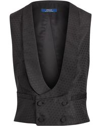 Polo Ralph Lauren - Jacquard Double-breasted Vest - Lyst