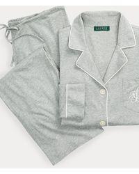 Ralph Lauren Pijama En Modal Y Algodón - Gris