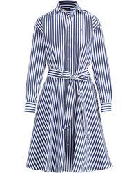 Polo Ralph Lauren - Cotton Broadcloth Shirtdress - Lyst