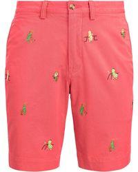 Pink Pony - Stretch Straight Fit Short - Lyst