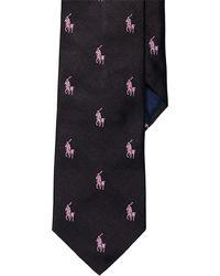 Polo Ralph Lauren - Pink Pony Silk Repp Tie - Lyst