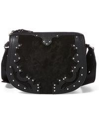 Polo Ralph Lauren - Western Suede Crossbody Bag - Lyst