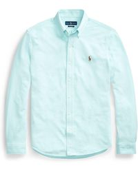 Polo Ralph Lauren - Classic Fit Knit Oxford Shirt - Lyst