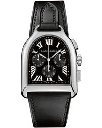 Ralph Lauren - Large Chronograph Steel - Lyst