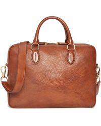 Ralph Lauren - Leather Briefcase - Lyst
