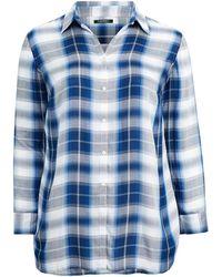 c1248c6d3e9 Lyst - Ralph Lauren Denim Western Shirt in Blue
