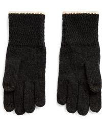 Ralph Lauren Rib-knit Tech Gloves - Black