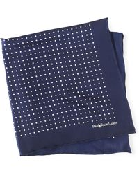 Polo Ralph Lauren - Polka-dot Silk Pocket Square - Lyst