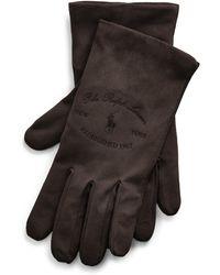 Ralph Lauren Heritage Nappa Leather Gloves - Black