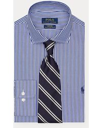 Polo Ralph Lauren Chemise rayée ajustée - Bleu