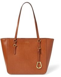 Ralph Lauren - Leather Oxford Tote - Lyst