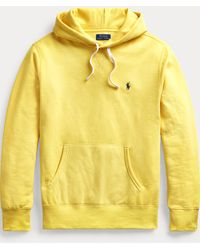 Polo Ralph Lauren Sweat à capuche en molleton - Jaune