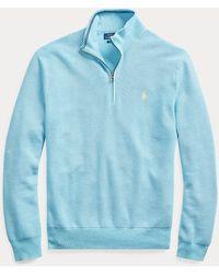 Polo Ralph Lauren - Baumwollpullover mit Reißverschluss. - Lyst