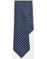 Polo Ralph Lauren - Cravatta in foulard di seta con cerchi - Lyst