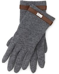 Pink Pony - Wool-blend Touch Screen Gloves - Lyst