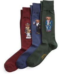 Polo Ralph Lauren Ensemble cadeau chaussettes Polo Bear - Multicolore