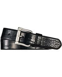 Ralph Lauren Alligator Belt - Black