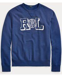 Polo Ralph Lauren Fleece-Sweatshirt mit Grafik - Blau