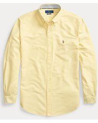 Polo Ralph Lauren Custom-Fit Oxfordhemd - Gelb