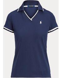 Ralph Lauren Golf Polo De Críquet Tailored Fit - Azul