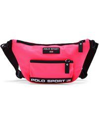 Ralph Lauren Polo Sport Nylon Waist Pack - Pink