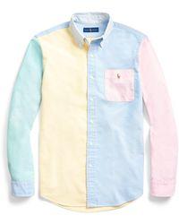 Ralph Lauren Classic Fit Oxford Fun Shirt - Blue