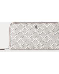 Ralph Lauren Heritage Continental Wallet - Multicolour
