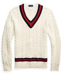 Ralph Lauren The Iconic Cricket Sweater - Multicolor