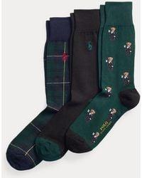 Polo Ralph Lauren Set De Calcetines Con Polo Bear - Multicolor