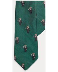 Ralph Lauren Martini Bear Tie - Green
