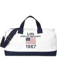 Ralph Lauren - Polo Sport Canvas Duffel Bag - Lyst