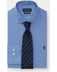 Polo Ralph Lauren Slim Fit Easy Care Shirt - Blue