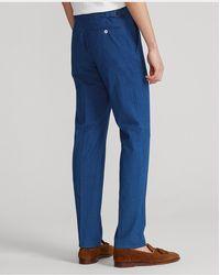 Polo Ralph Lauren Pantalón De Traje De Sirsaca En Índigo - Azul