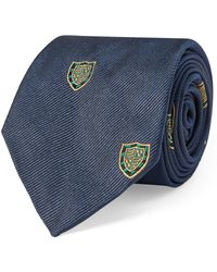 Polo Ralph Lauren - Silk Twill Narrow Club Tie - Lyst