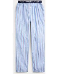 Polo Ralph Lauren Pantalon de pyjama jersey de coton - Bleu