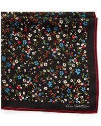 Ralph Lauren - Floral Silk Scarf - Lyst